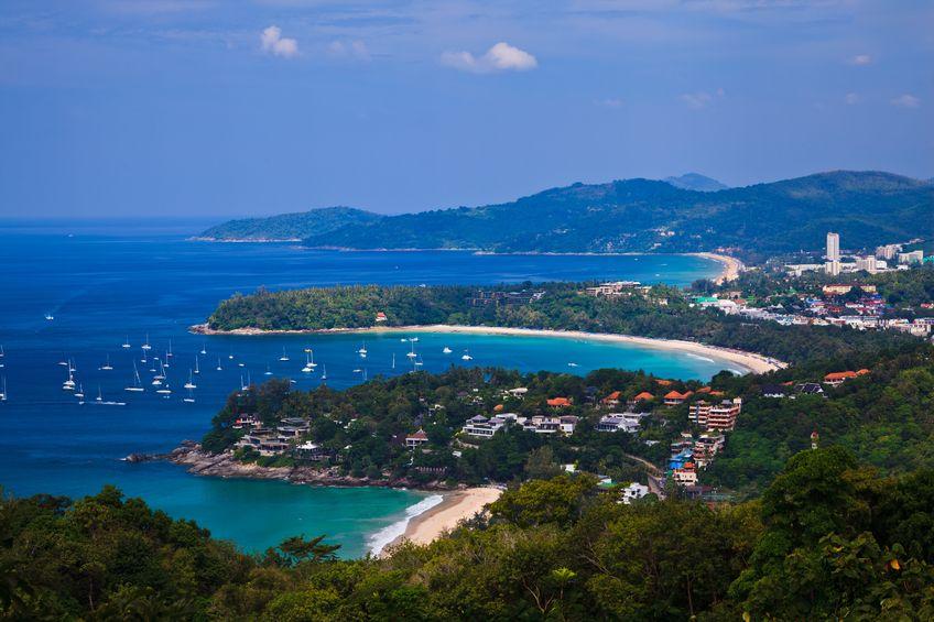Bird eye view of Phuket