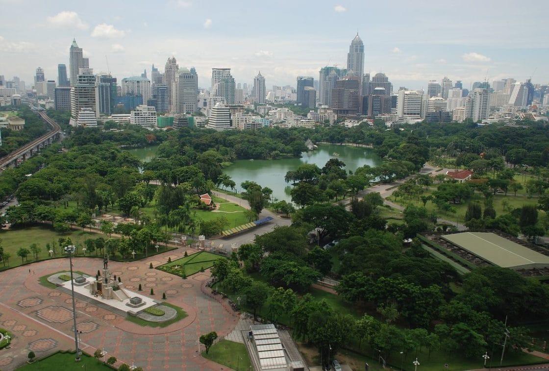Lumphini Park Bangkok