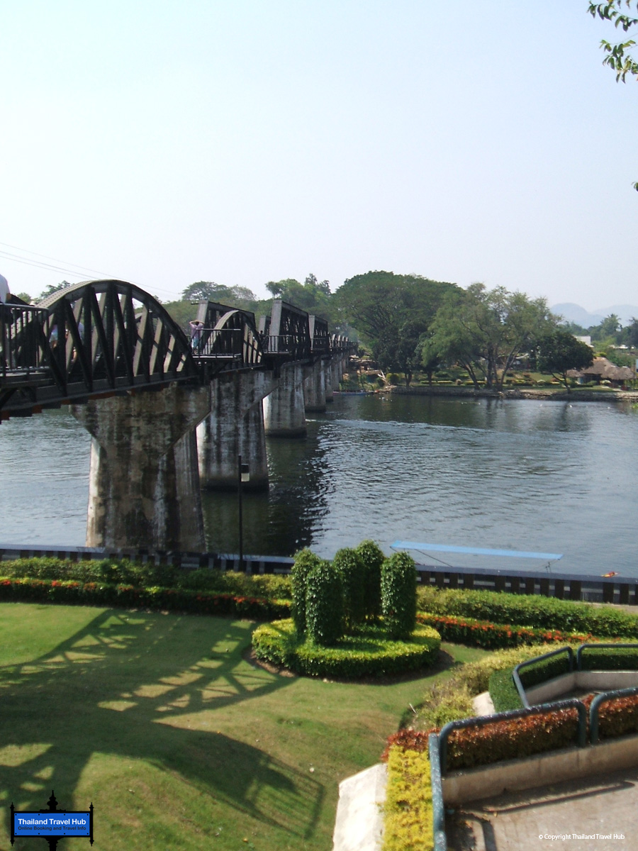 river kwai bridge river scene