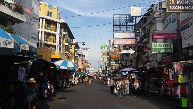 khaosan Road Early Day Time