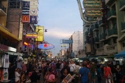 Khao san Road Early Evening