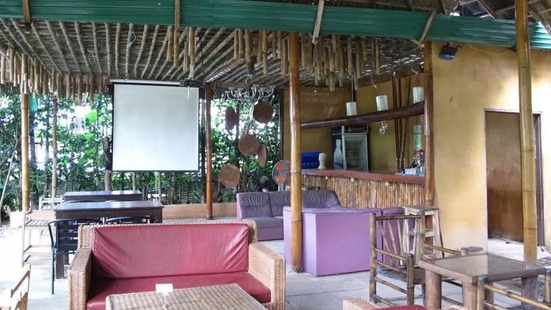 Akha River House Chillout Area