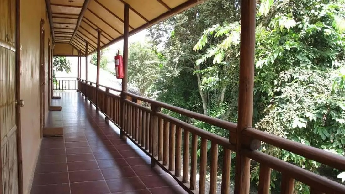 Akha River House Rooms Balcony Walkway