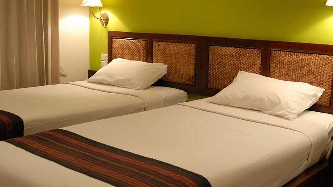 Mandala budget hotel room