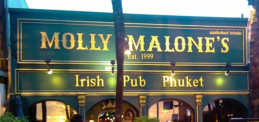 molly malones phuket