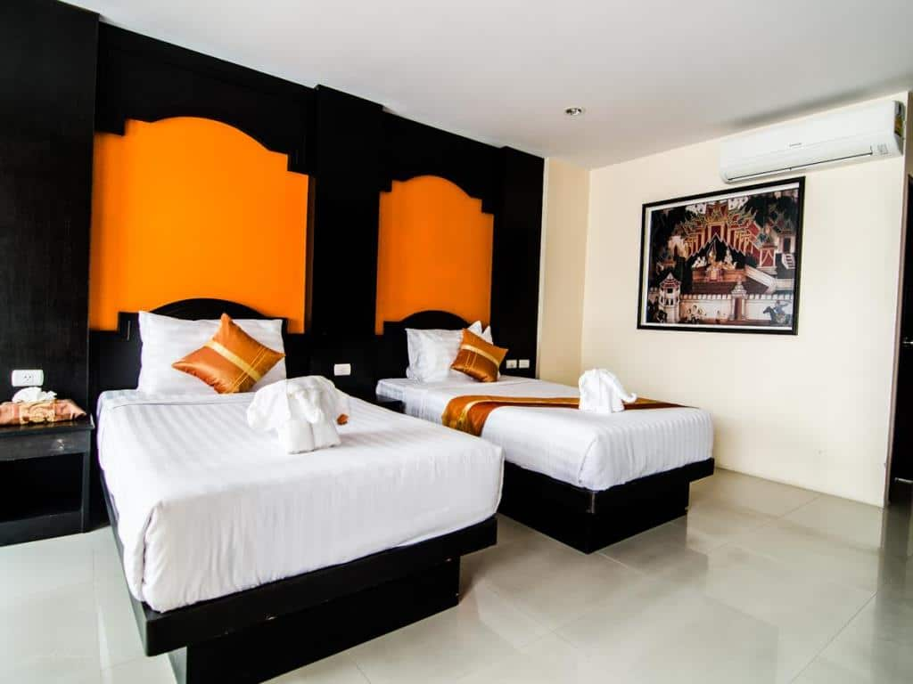 FunDee Boutique Hotel Patong Twin Room