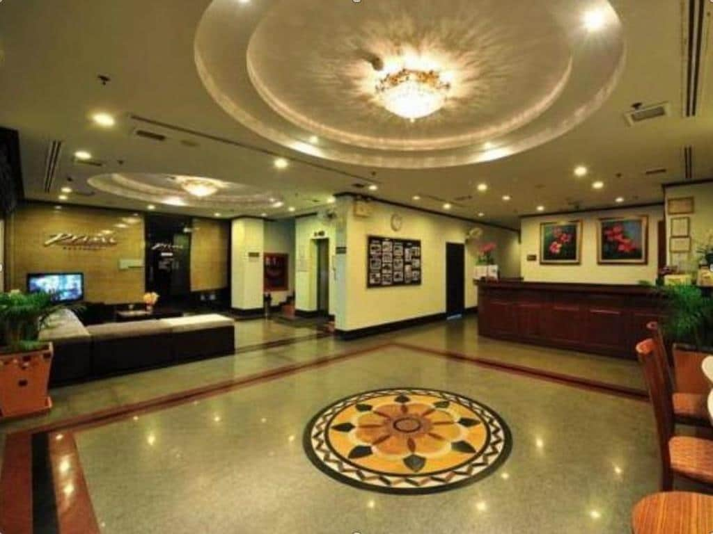 Thipurai City Hotel Double Lobby