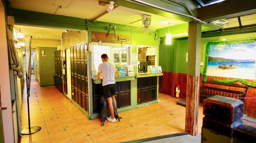 Green House Hostel Reception