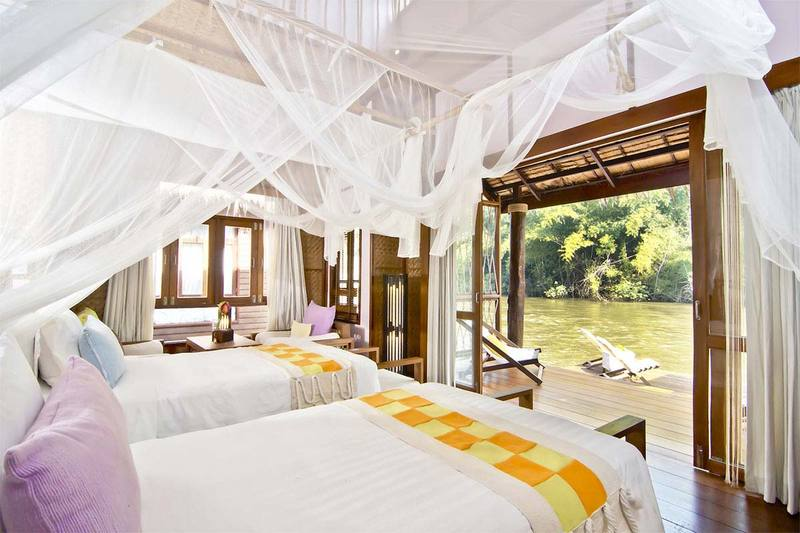 The Float House River Kwai Resort Room