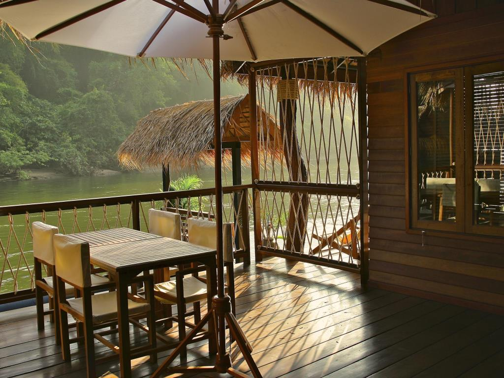 The Float House River Kwai Resort Balcony