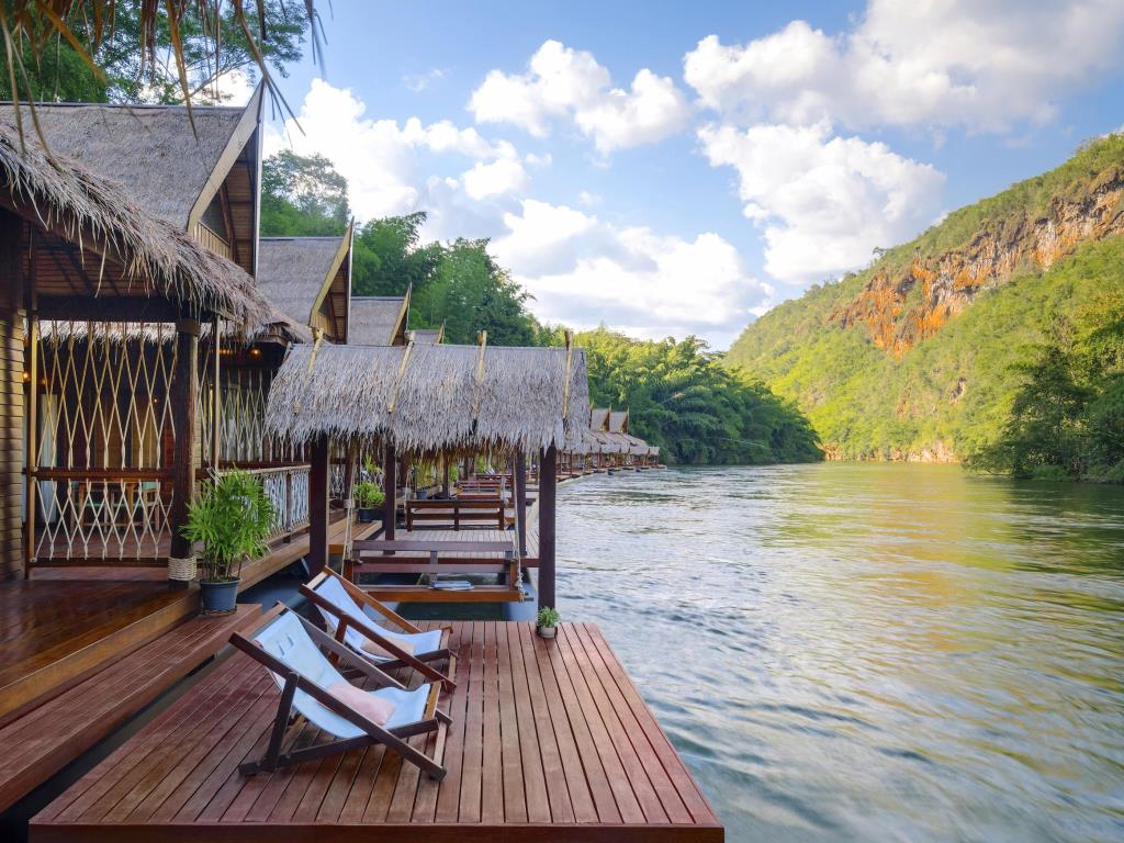 The Float House River Kwai Resort Surrounding Terrace