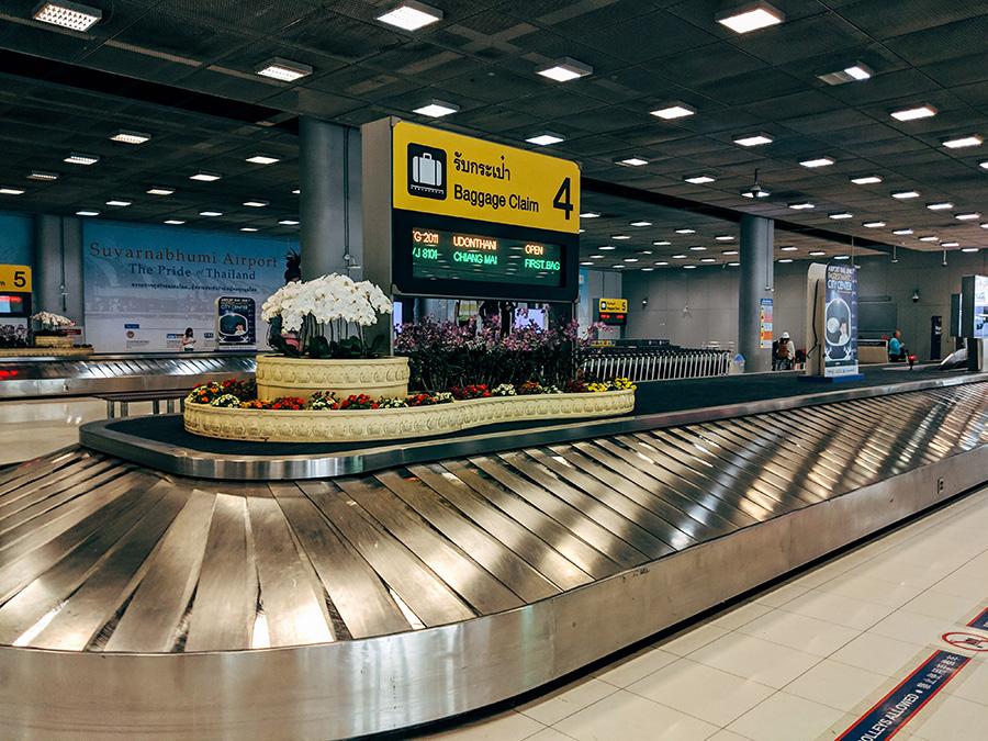 Baggage Claim Suvarnabhumi Airport
