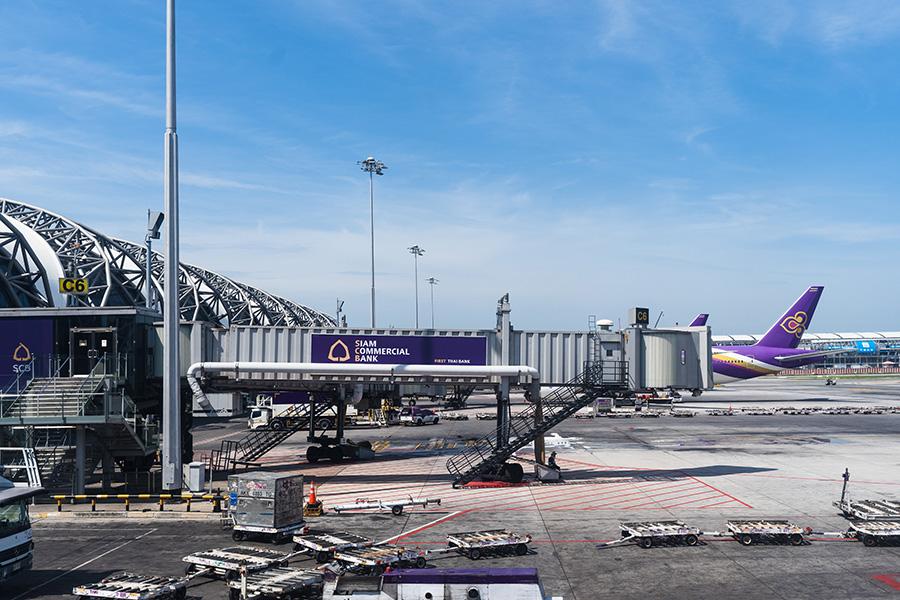 Bangkok Suvarnabhumi Airport Exterior