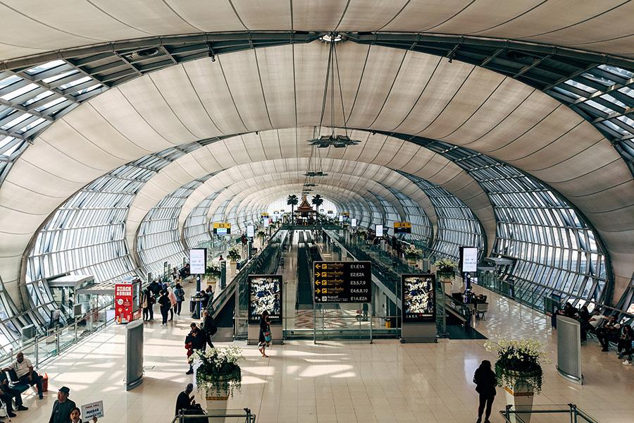 Bangkok Suvarnabhumi Airport Interior