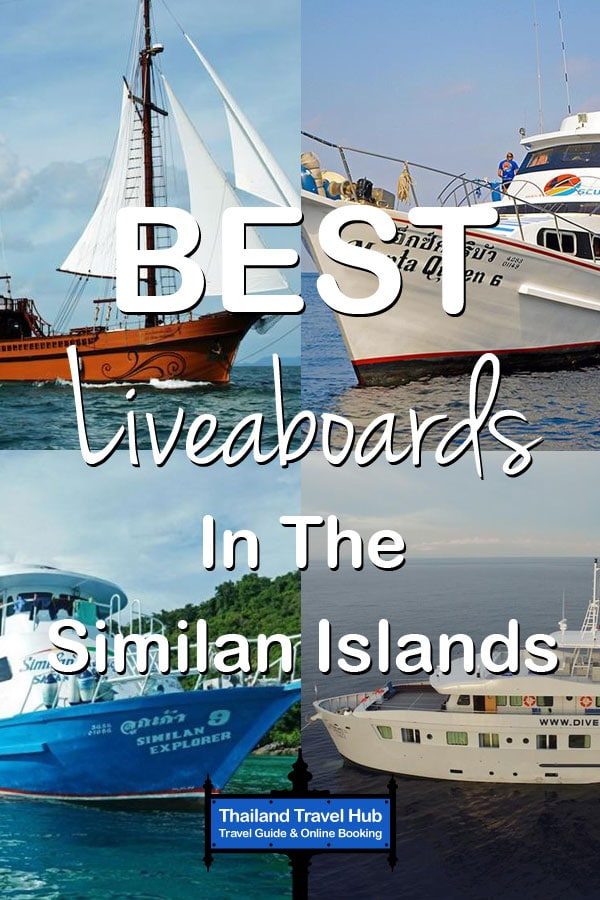 Best Liveaboards In The Similan Islands