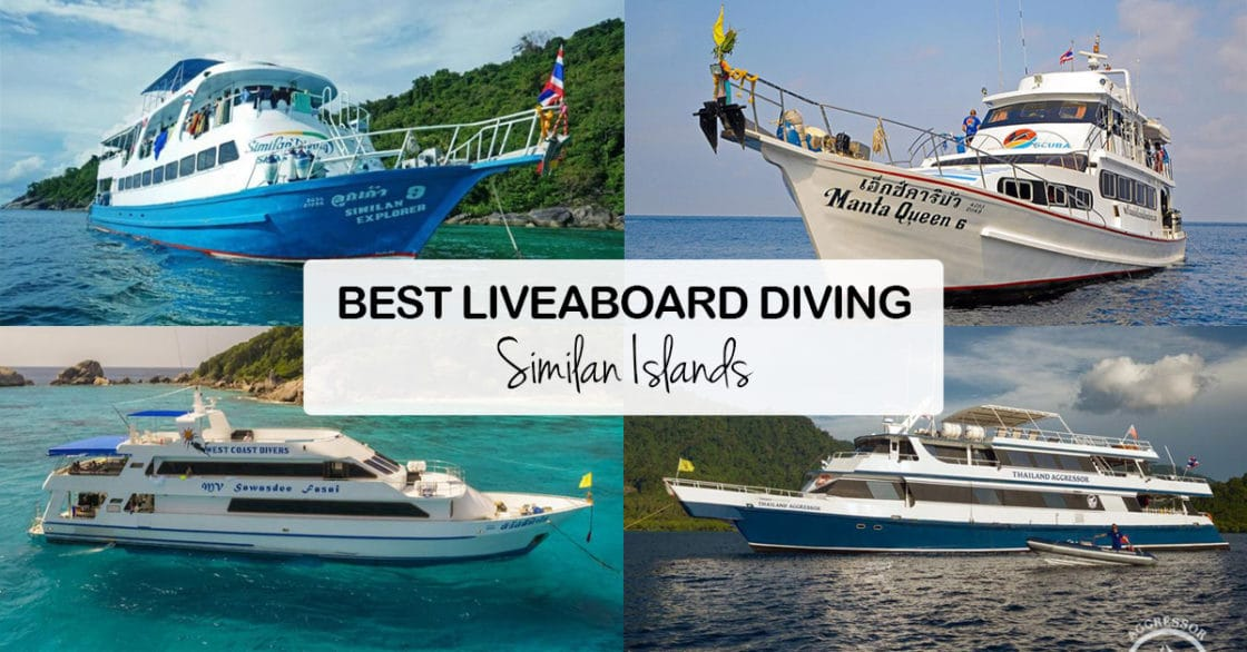 Best Liveaboards Similan Islands Thailand