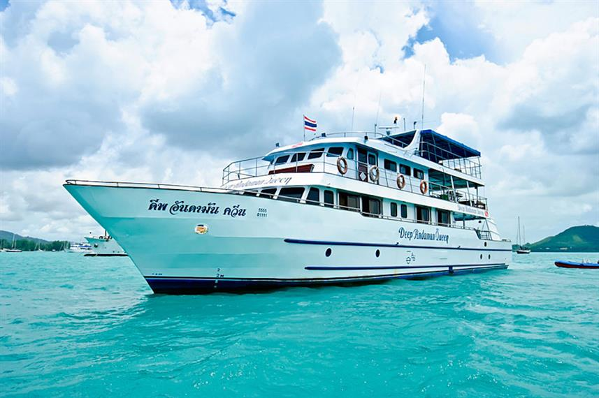 Deep Andaman Queen Liveaboard Diving Trips