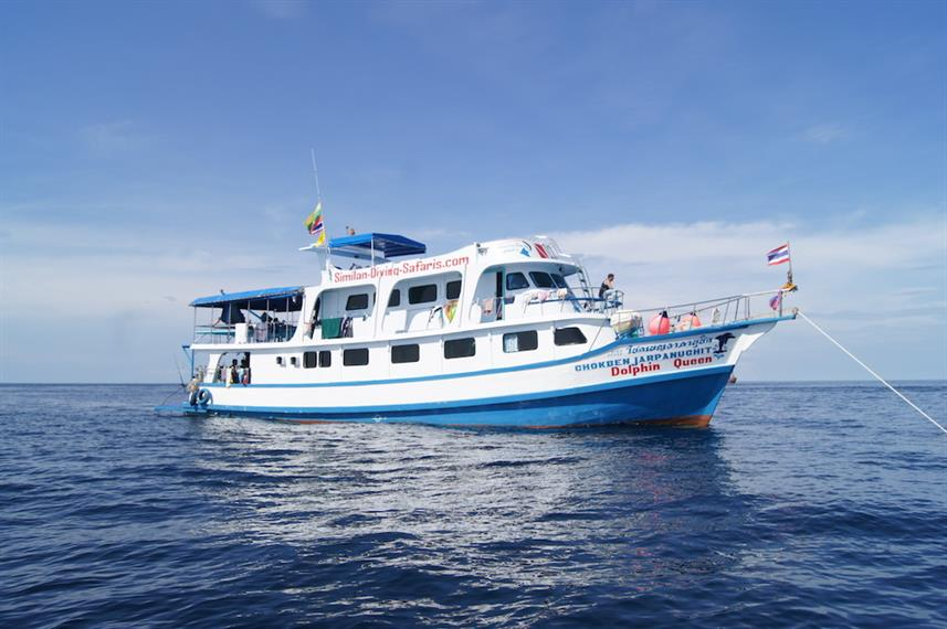 Dolphin Queen Liveaboard Diving Trips
