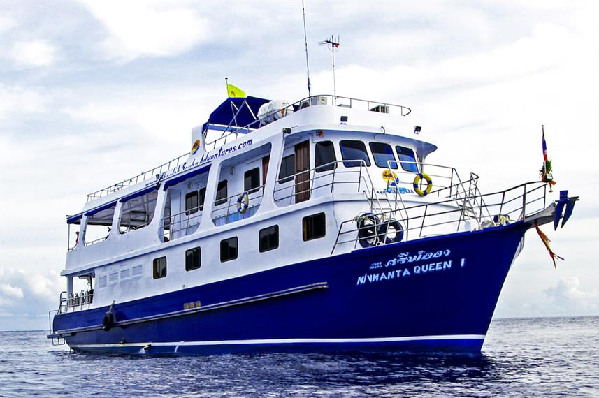 Manta Queen 1 Liveaboard Diving Trips