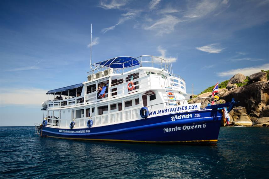 Manta Queen 5 Liveaboard Diving Trips