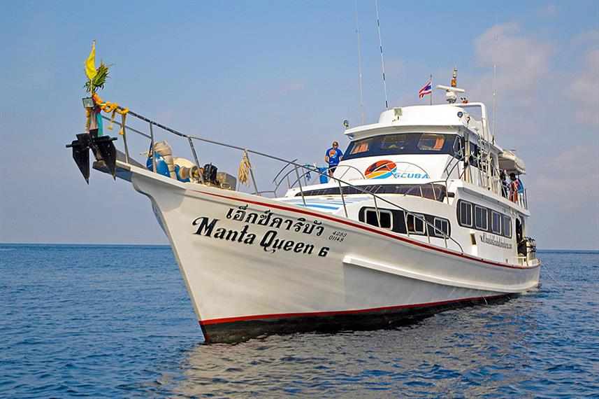 Manta Queen 6 Liveaboard Diving Trips