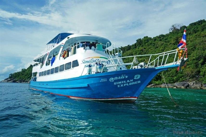Similan Explorer Liveaboard Diving Trips