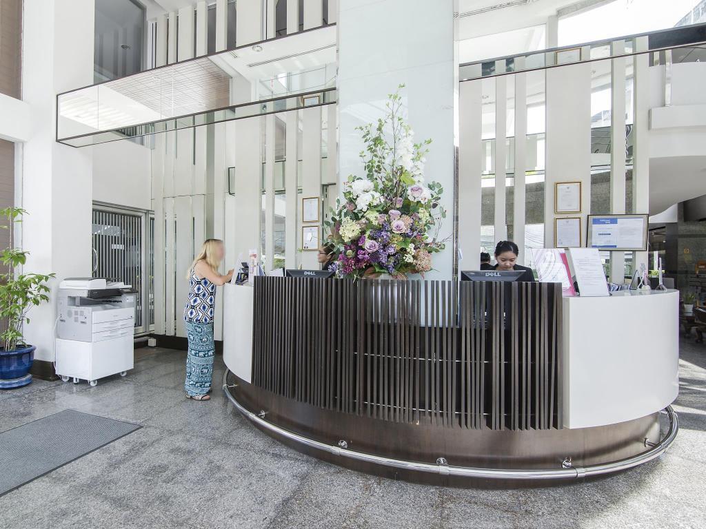 Trang Hotel Bangkok Reception