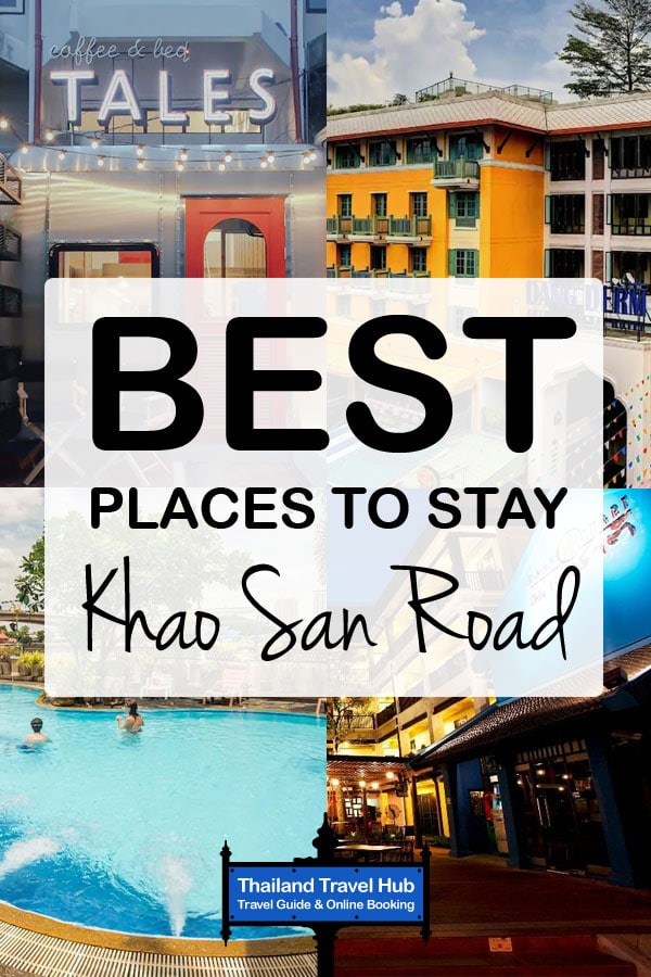 Best Places To Stay Near Khao San Road