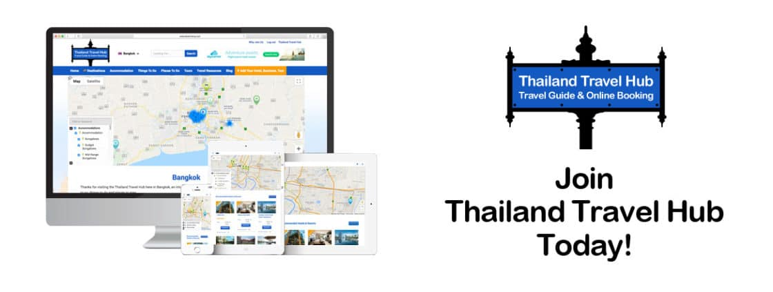Thailand Travel Hub Sign Up