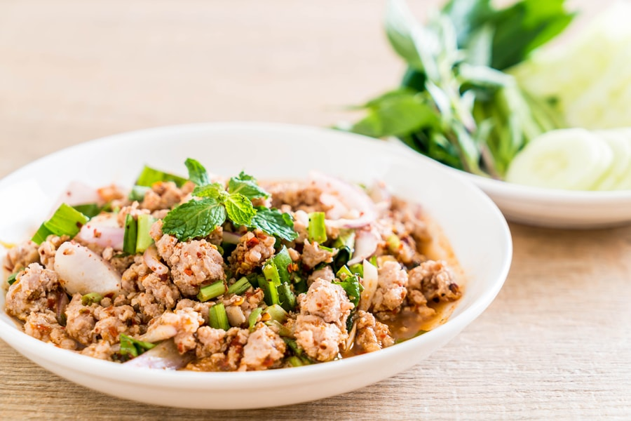 Larb Moo - Spicy Mince Pork