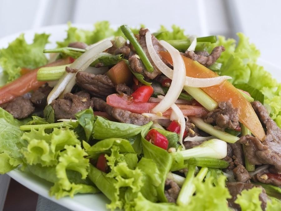Thai Beef Salad Yam Nua