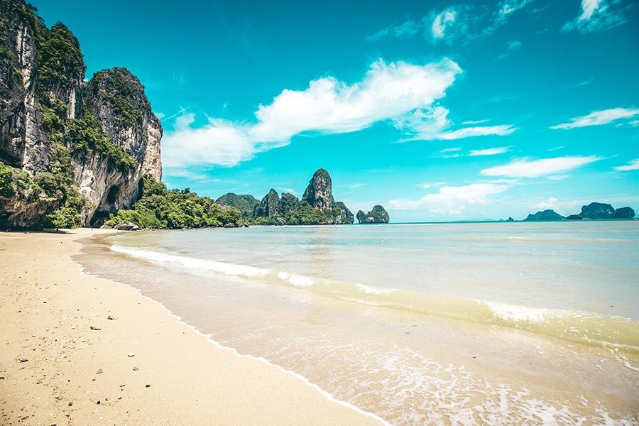 Tonsai Beach In Krabi