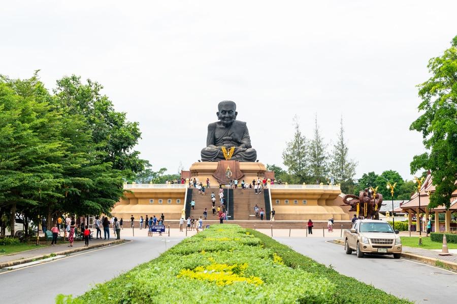 Luang Pu Toad Buddha Statue