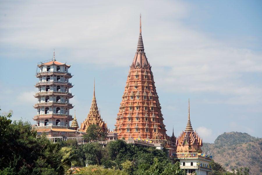 Wat Tham Sua Pagoda