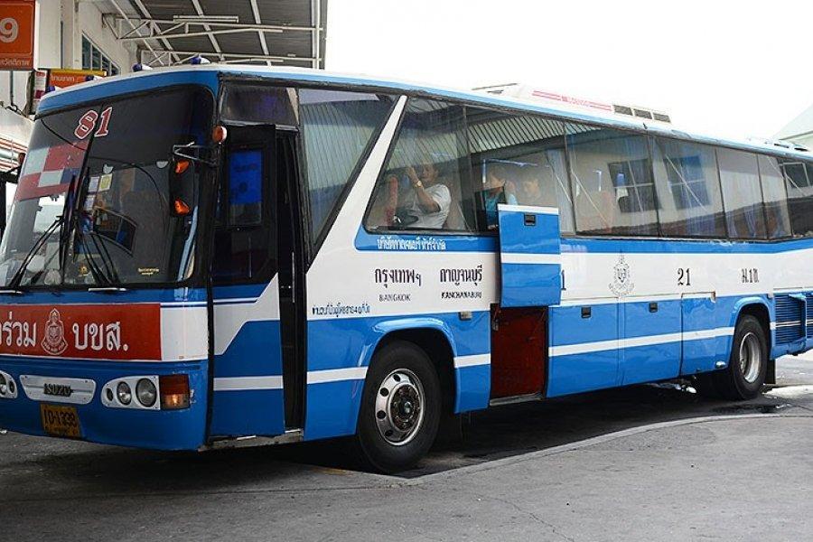 Bangkok to Kanchanaburi by Bus