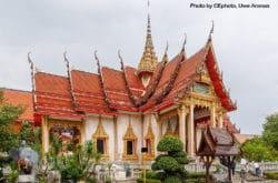 Phuket Thailand Wat Chalong