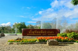 San Kamphaeng Hot Springs Entrance