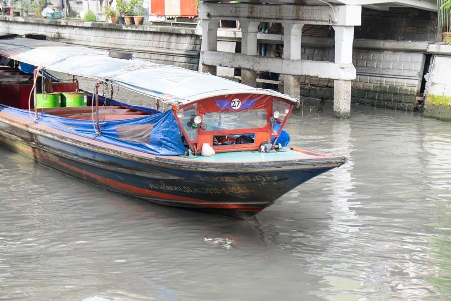 Bangkok Khlong Boat