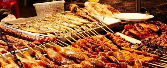 Street Food In Kanchanaburi
