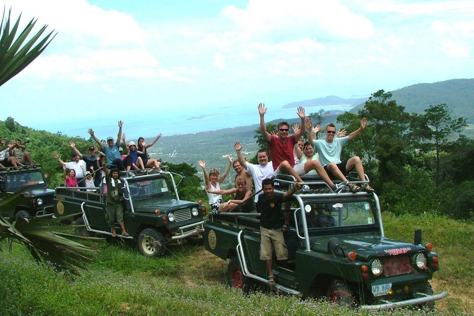 4WD Jungle Safari Tour, Koh Samui