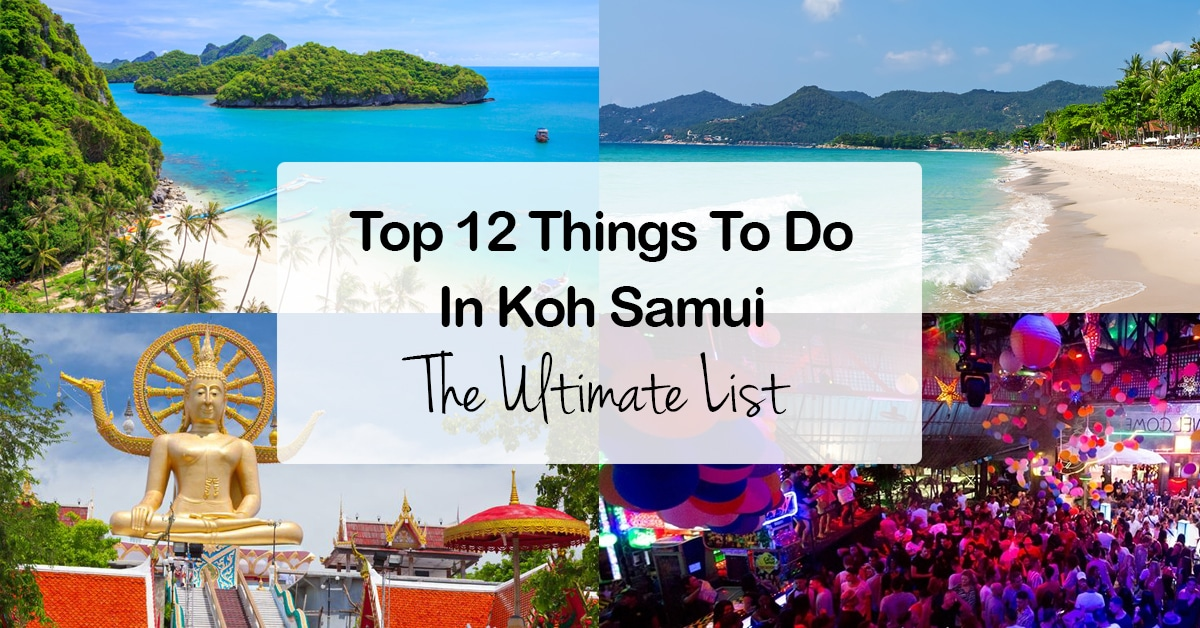 Best Things To Do In Koh Samui