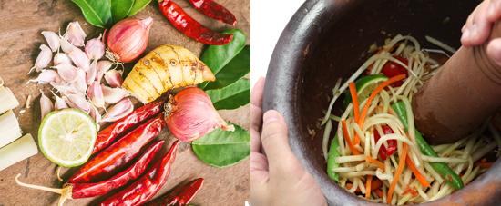 Thai cookery classes