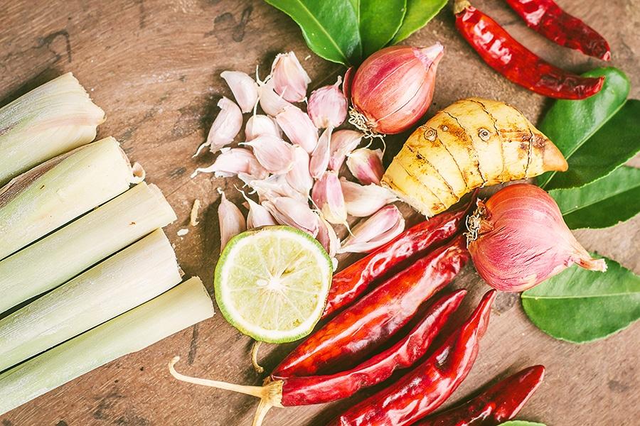 Cooking School Herbs, Koh Samui